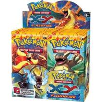 Pokemon Xy Flashfire Booster Box(original Em Inglês)