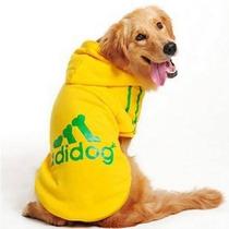Roupa Para Cães Grandes - Moletom Amarelo