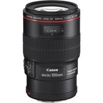 Lente Canon Ef 100mm F/2.8l Macro Is Usm + Garantia +uv