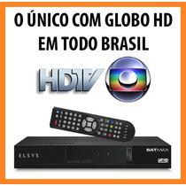 Receptor Elsys Satmax Etrs36 Unico Globo Hd Em Todo Brasil