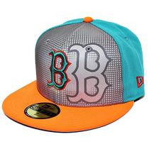 Boné New Aba Reta Boston Red Sox Reflective 7 1/4 M Original