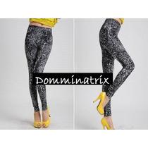 Calça Legging Jegging Imita Jeans P M 36 38 40 Oncinha