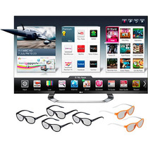 Smart Tv 3d Led 55 Lg 55lm7600 Full Hd 4 Hdmi 3 Usb 240hz