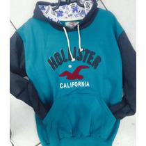 Blusa Frio Moletom Hollister Califórnia Masculina Oferta