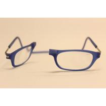 Óculos Clic - 100% Original - Veja Vídeo - Cor Azul Fosco