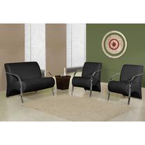 Conjunto De Poltronas Decorativas - Cadeiras Sala De Estar