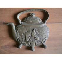 Enfeite Parede Bronze 10 Cm X 10 Cm