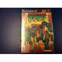 Teenage Mutant Ninja Turtles Ps2. Frete 10,00