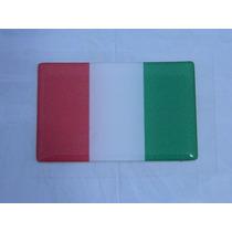 Adesivo Resinado Bandeira Italia