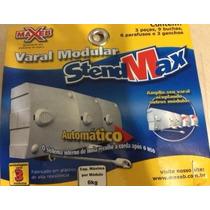 Varal Modular Recolhe Automático - 3 Pçs Com 4,8 Metros Kit