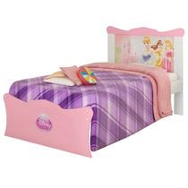 Cama Solteiro Princesas Happy Disney - Pura Magia