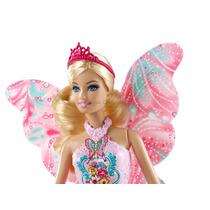 Boneca Barbie Rosa Conto De Fadas - Original Mattel