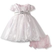Vestido Importado Infantil Bebê Festa Aniversário Batizado