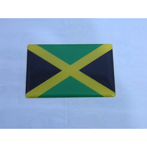 Adesivo Resinado Bandeira Jamaica