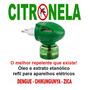 Citronela Óleo + Extrato Etanólico - Refil Aparelho Elétrico