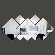 Espelho Decorativo Grande 1,15x0,55m Montado