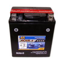 Bateria Moto Moura Ytx7l-bs Ma6-d Cb600 250 Biz Falcon Nx Xr