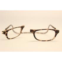 Óculos Clic - 100% Original - Veja Vídeo - Cor.tartaruga