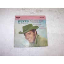 Compacto Elvis Presley, Só A Capa Em Bom Estado