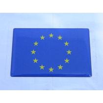 Adesivo Resinado Bandeira União Europeia