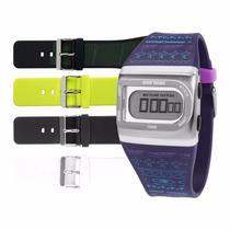 Kit Relógio Mormaii Troca Pulseiras Fzpr/8g Garantia E Nf