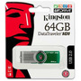 Pen Drive Original 64gb Kingston Dt101 Giratório Usb Lacrado