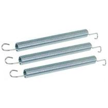 Mola Para Reco Reco Aluminio Natural Kit Com 3
