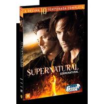 Supernatural - Sobrenatural - 10ª Temporada - 6 Discos, Novo