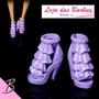 Sapato Luxo Para Barbie * Sapatinho Mattel * Sandália