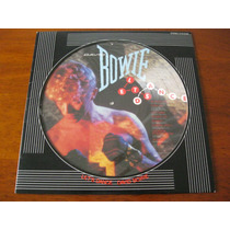David Bowie : Lindo Lp Picture Japonês ~ Let