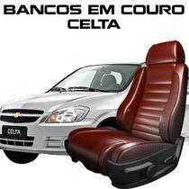 Acessorios Celta - Capas De Banco 100% Em Couro Celta