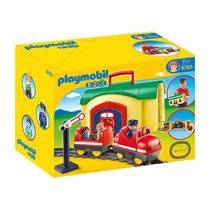 6783 Playmobil 1.2.3. Maleta Trenzinho