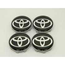 Calota Centro De Roda Toyota Corolla Etios Camry Prius 49mm