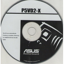 Cd Drivers Original Placa Mae Asus P5vd2-x Series Frete Grat