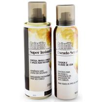Kit Instant Hair Maquiagem Para Calvície + Selante
