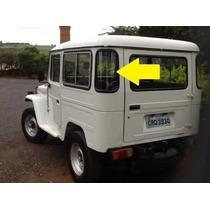 Borracha Vidro Canto Toyota Bandeirante Jeep E Perua 68...