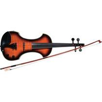 Violino Fender Eletrico Fv3 Brow Sunburst
