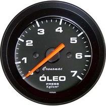 Pressão Óleo 52mm Cronomac Street Tuning Motor
