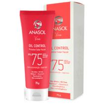 Protetor Solar Facial Oil Control Fps75 - Oil Free - Anasol