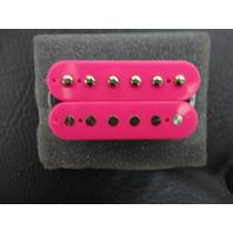 Captador Braço Malagoli Custom Hb4 Pink Enrolado A Mão