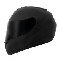 Capacete Mt Helmets Optimus Escamoteável Prto Fosco - 61/62
