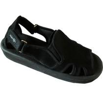 Chinelo Sandália Magnética Masculina Com Velcro Kenfoot