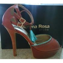 Sandalia Morena Rosa Super Fashion
