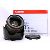 Lente Canon Ef 35mm F/1.4 L Usm 1 Ano Garantia Mercplatinum