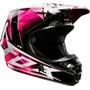 Capacete Fox V1 Radeon Rosa Trilha Motocross A Sw - Grande