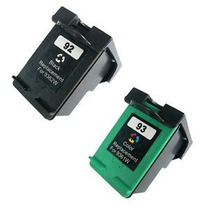 Cartucho Hp 92 93 Preto E Color Psc 1510 C 3100 C 3180