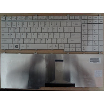 Teclado Toshiba L350 L500 L550 P200 P300 A500 A505 Branco