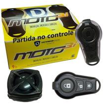 Alarme Bloqueador Moto Presença Resgate Partida Controle