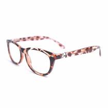 Armação Óculos Wayfarer Oncinha Leopardo 180º Sl 7044 C1 Mj