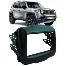 Moldura Painel 2 Din Jeep Renegade Completa